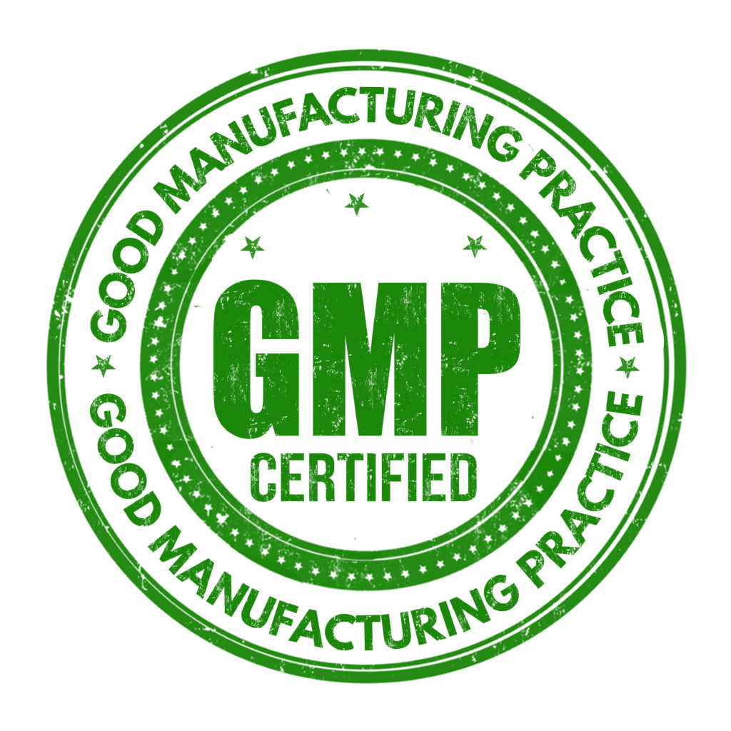 GMP Certified Manufacturer